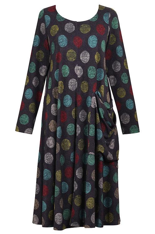 ALEMBIKA TURQUOISE  FRONT POCKET DRESS