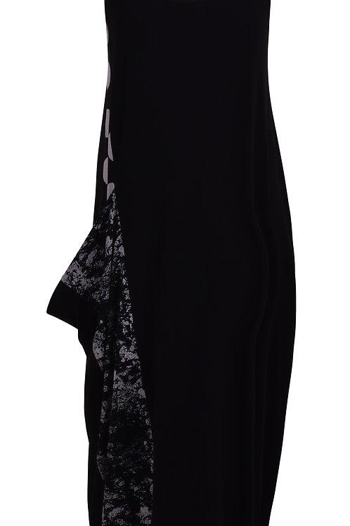 ALEMBIKA MIX MEDIA POCKET SLEEVLESS DRESS