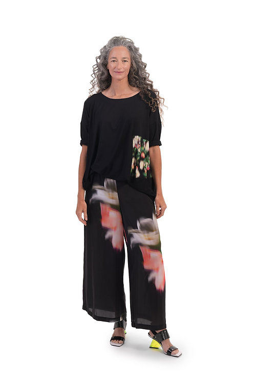 ALEMBIKA WATER COLOR WIDE LEG PANTS