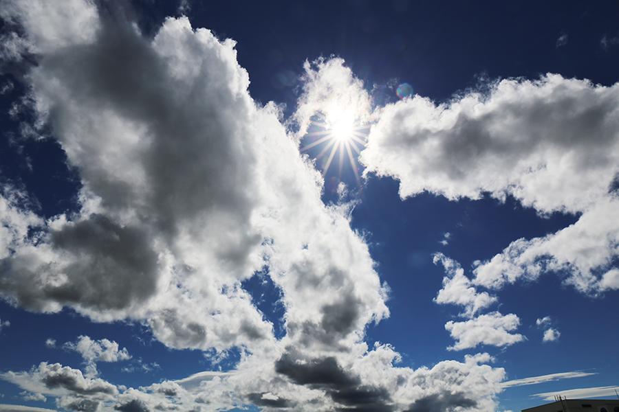 晴天の中のグランプリ