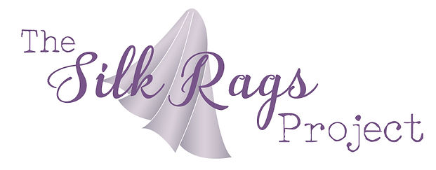 The Silk Rags Project logo designed by Naomi Blythe of NB Graphics nbgraphics.com.au