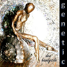 The original CD soundtrack 'Genetic' by Dee Handyside which is now the soundtrack to 'The Silk Rags Project'.  Artwork by Lisa Miller-Gage.