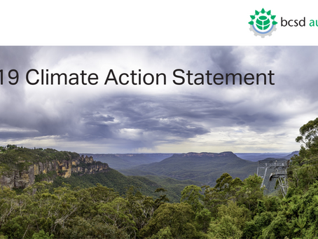 Media release: BCSD Australia releases Climate Action Statement ahead of UN Summit