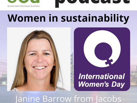Podcast: Women in sustainability - Janine Barrow from Jacobs