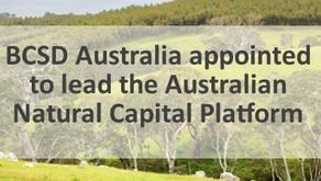 BCSD Australia to lead the Australian Natural Capital Platform