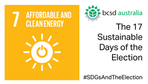 SDG7: The 17 Sustainable Days of the Election