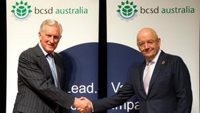 AFR BOSS Magazine: Hewson & Bakker discuss sustainability leadership