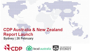 Event: Launch of CDP Regional Report & Findings - 26 February