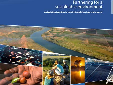 BCSD Australia congratulates the Australian Government on its Environmental Partnerships initiative