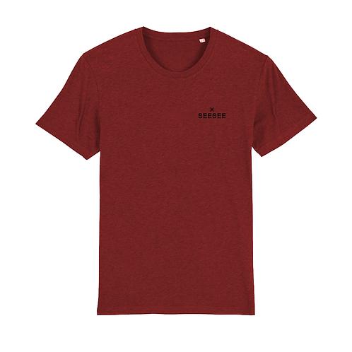 Pánske tričko SIMPLICITY bordová