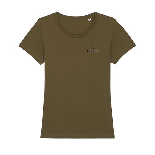 Dámske tričko SIMPLICITY khaki