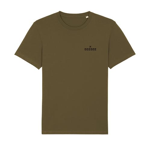 Pánske tričko SIMPLICITY khaki