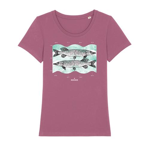 Ružové tričko ŠŤUKA - SLIMFIT