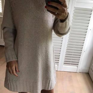 Robe en laine beige Tomorrow Style