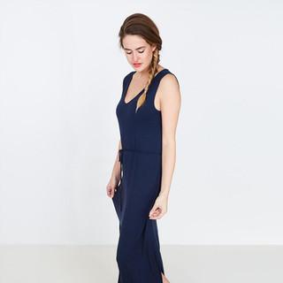 Maxi robe bleu nuit JBC