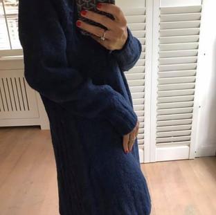 Robe en laine marine Tomorrow Style