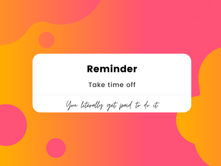 How to Encourage Your Employees to Take Time Off