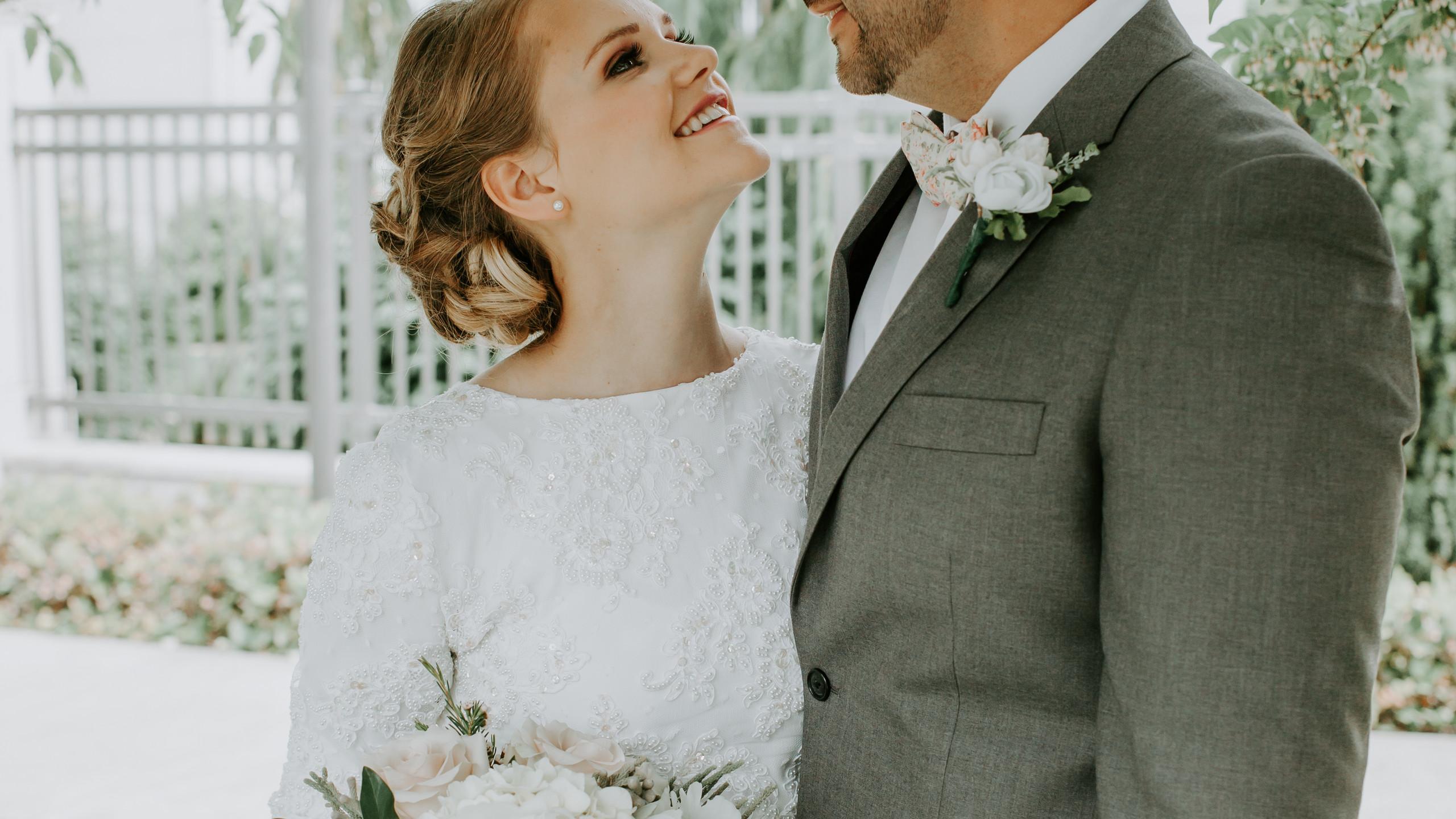 Bride and Groom, Vancouver Canada