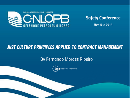 Just culture principles applied to contract management