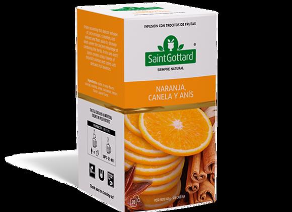 Naranja, canela y anis