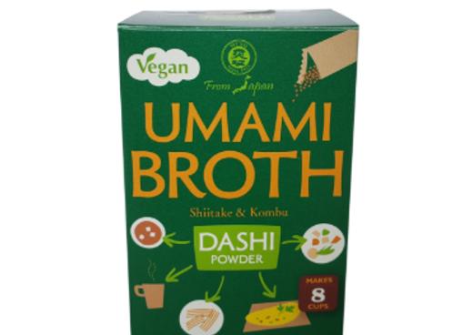 Kombu shiitake dashi vegano