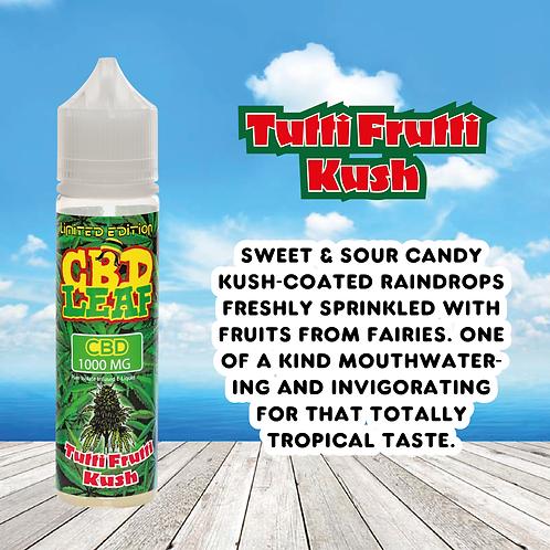 CBD Leaf -Tutti Fruitti Kush - 100MG (60ML)