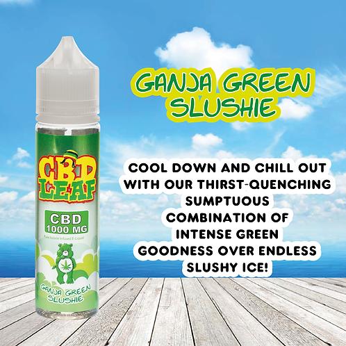 CBD Leaf - Ganja Green Slushie - 1000MG (60ML)