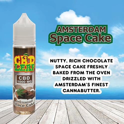 CBD Leaf - Amsterdam Space Cake- 1000MG (60ML)