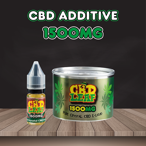 CBD Leaf - Pure Crystal - E-Liquid 1500MG (10ML)