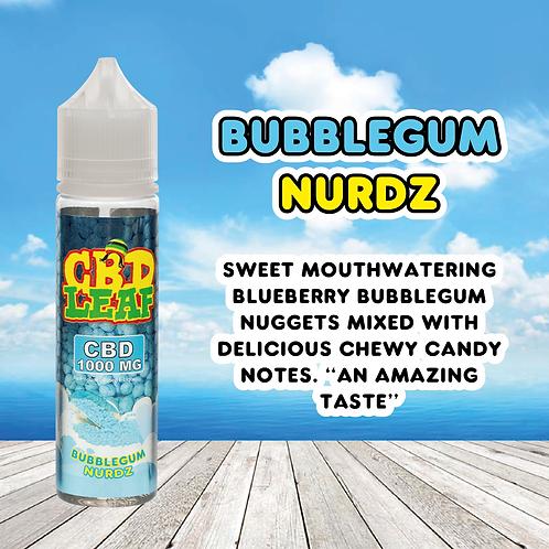 CBD Leaf - Bubblegum Nurdz - 1000MG (60ML)