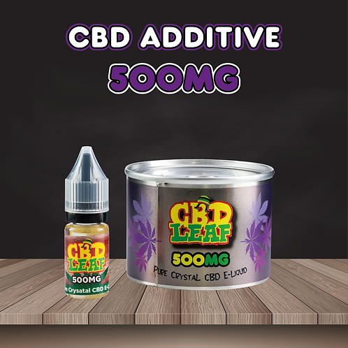 CBD Leaf - Pure Crystal - E-Liquid 500MG (10ML)