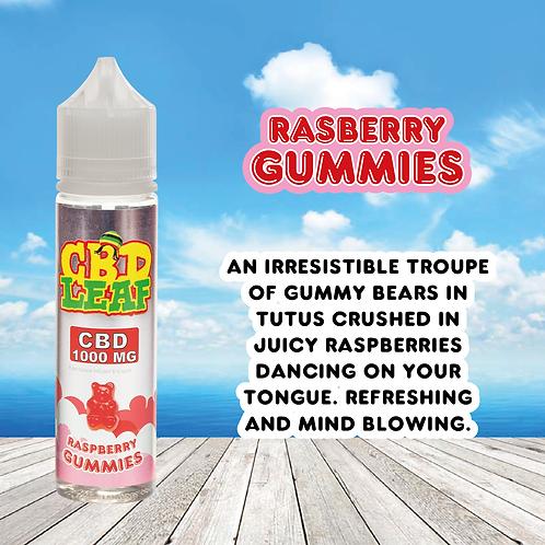 CBD Leaf - Raspberry Gummies - 1000MG (60ML)