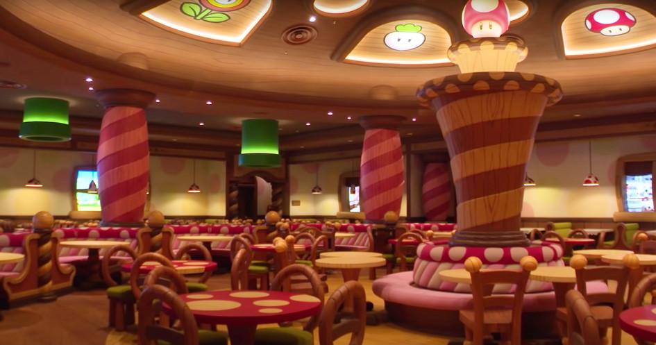 Super Nintendo World - Kinopio's Cafe