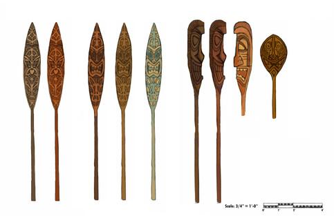 Decorative Paddle Concepts
