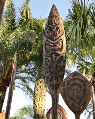 Tiki Paddle