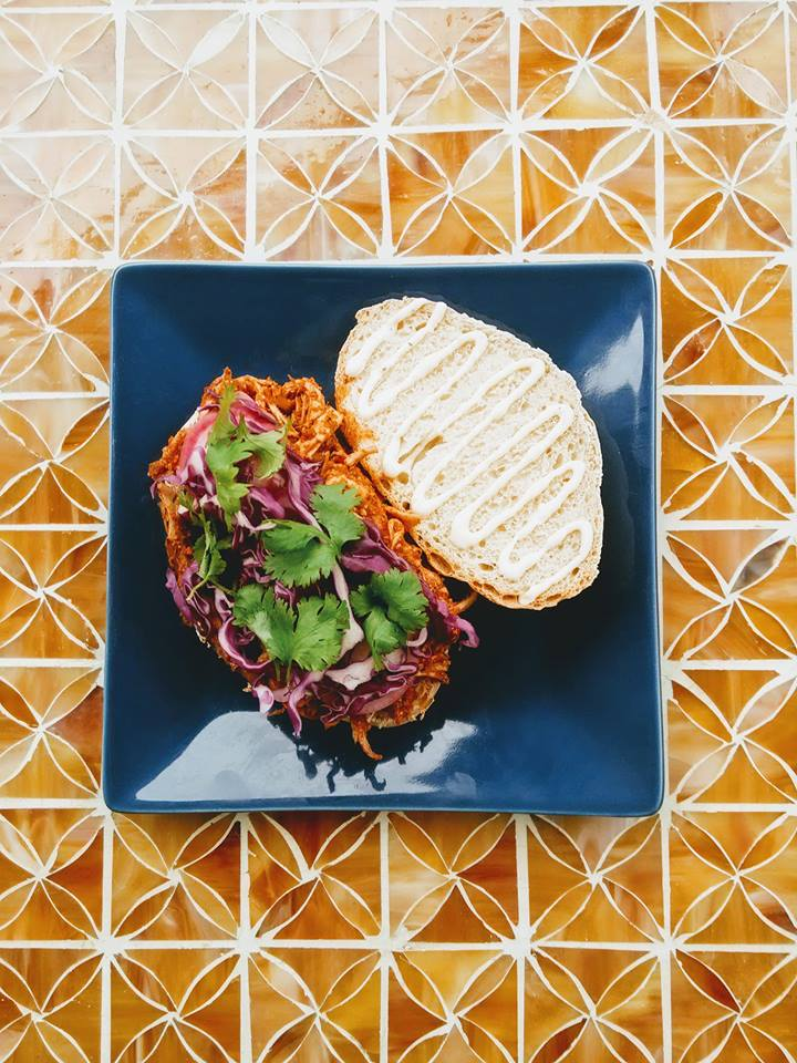Salvadoran Turkey Sandwich