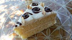 Almond Sour Cream Cake