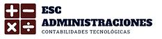 Logo de esc administraciones Asesorias contables