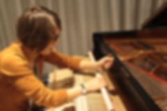 grand piano voicing, piano regulation