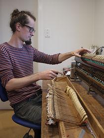 action service, piano repair Auckland