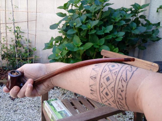 Tatouage chamanique anneaux