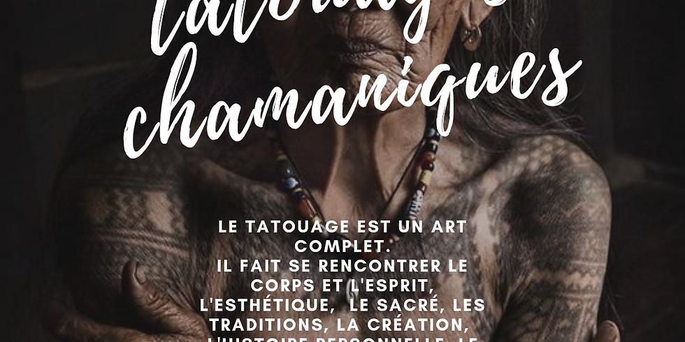 CONFERENCE TATOUAGE CHAMANIQUE - Semaine Chamanique d'Automne