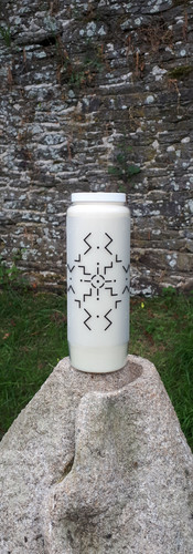 Bougie Neuvaine Rune cosmique vibration