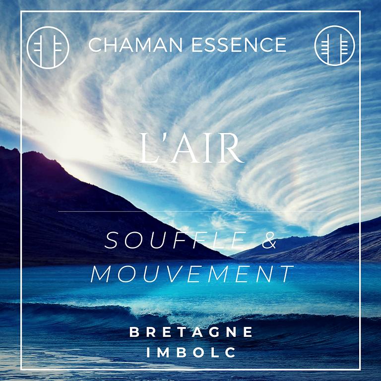 L'AIR - SOUFFLE & MOUVEMENT - stage avancé de chamanisme
