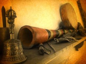 soin chamanique instruments sacrés