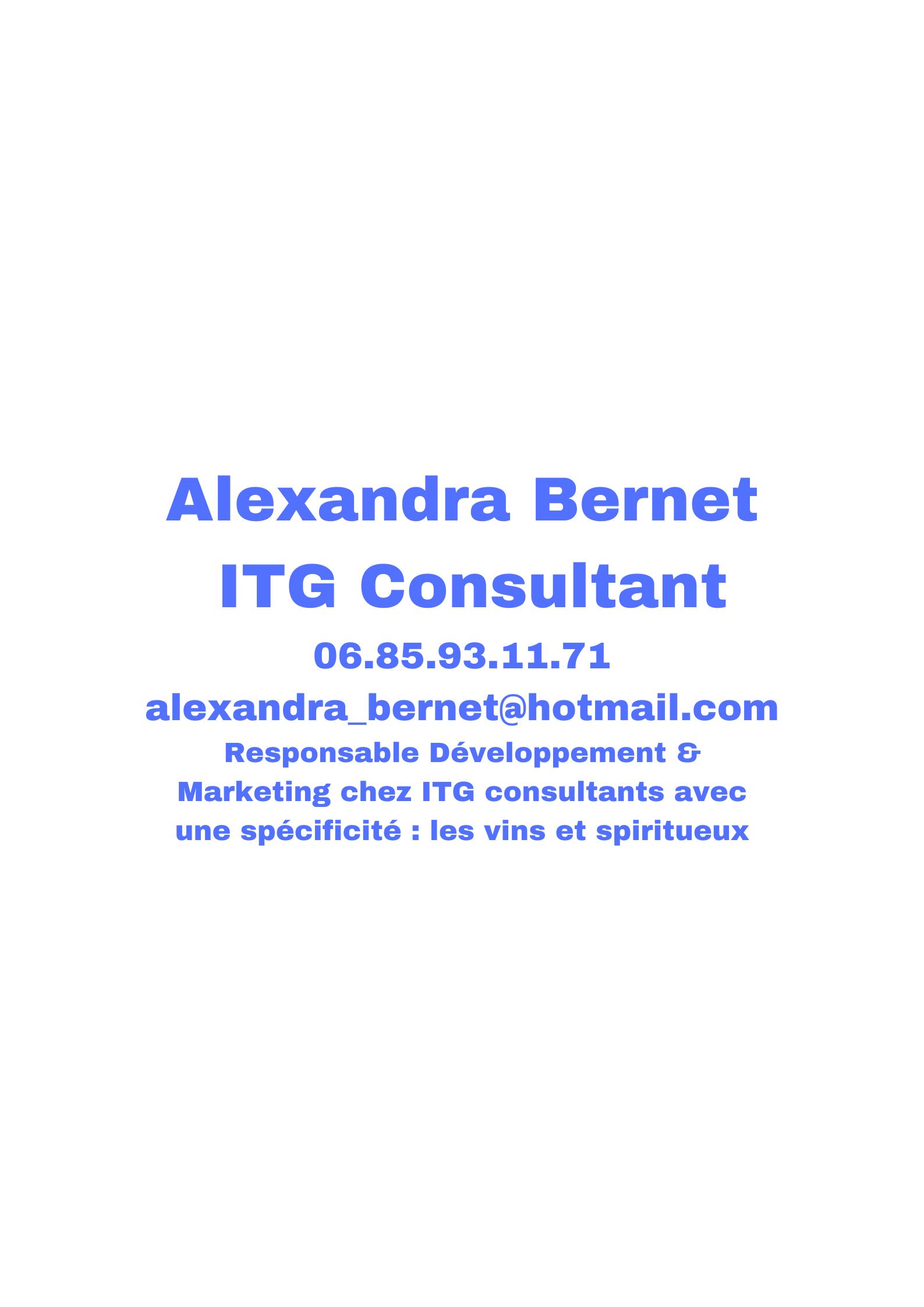 ITG Consultant