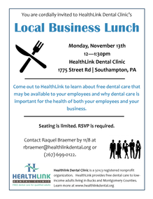 FREE Lunch & Learn 11/13 for Local Employers with Part-Time