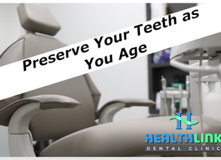 Preserve Your Teeth as You Age