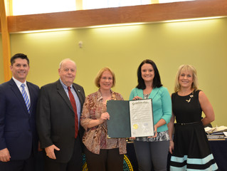"Bucks County Commissioners Declare April 2016 ""Bucks County Oral Health Month"""