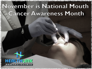 November is National Mouth Cancer Awareness Month